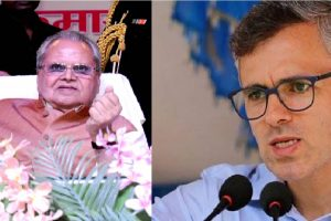 J-K: Governor Malik asks Omar not to promote mistrust among people