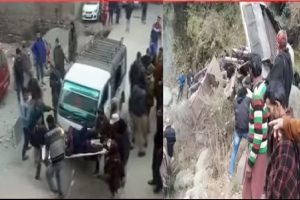 J-K: At least 15 killed, many injured as bus rolls into gorge in Poonch district