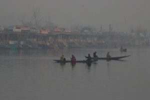 Slight respite from cold in Kashmir