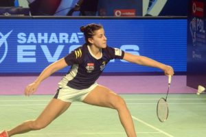 Marin battles through to 2nd round of Malaysia Masters badminton tourney