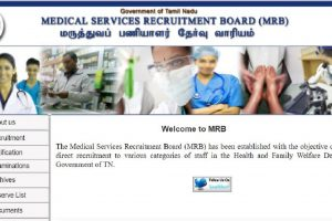 TNMRB declares Assistant Surgeon Exam results 2018 | Check now at www.mrb.tn.gov.in