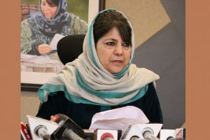 "Mehbooba warns ""we don't want to create Zia's Pakistan in Gandhi's India"""