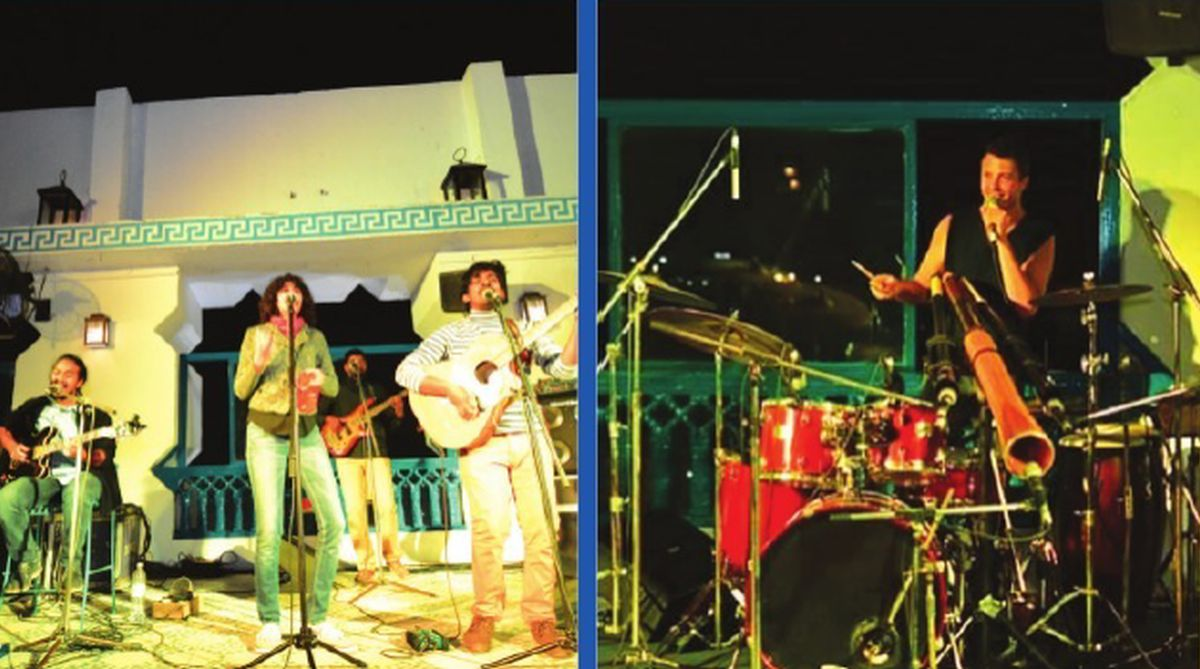 Ta Blu Music Festival, Jaipur,Pink City,Tritha Electric,Arabic music,Shye Ben Tzur,Qawwali grooves