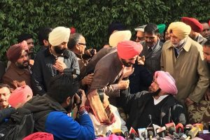Amarinder Singh a 'fatherly figure', I love him: Navjot Sidhu after Cong warns him on 'captain' remark