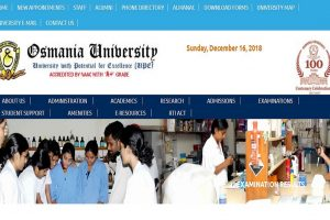 Osmania University releases various courses results on www.osmania.ac.in | Check direct link here