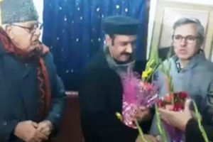 Mehbooba suffers another setback as senior PDP leader Basharat Bukhari joins NC