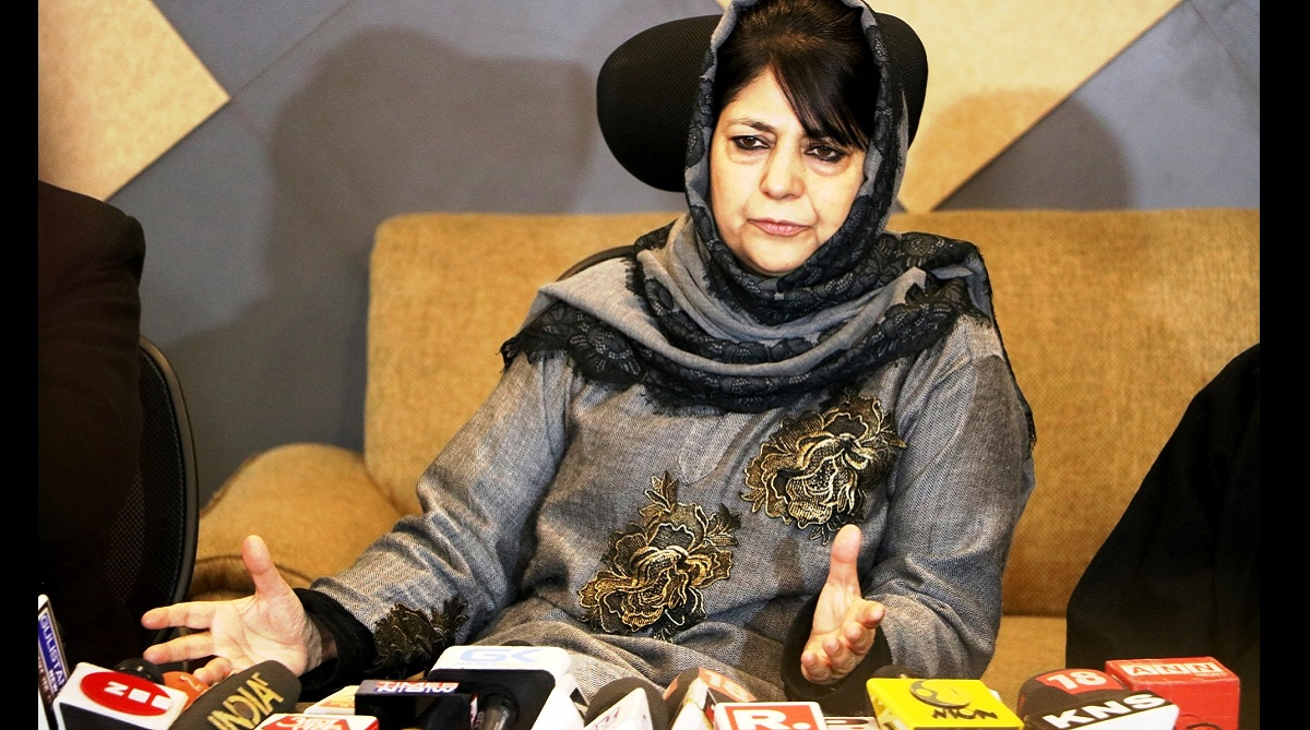Mehbooba stirs up hornet's nest with demand for detaching Chenab areas from Jammu division