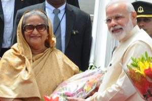PM Modi congratulates Sheikh Hasina on her emphatic victory