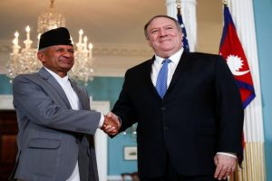 Amid Chinese inroads, Pompeo meets Nepal foreign minister