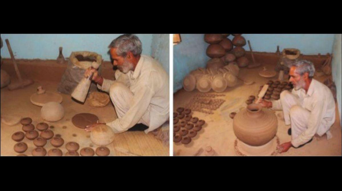 pottery art, Paudhana village,Himachal Pradesh, Beli Ram,potter,clay pots