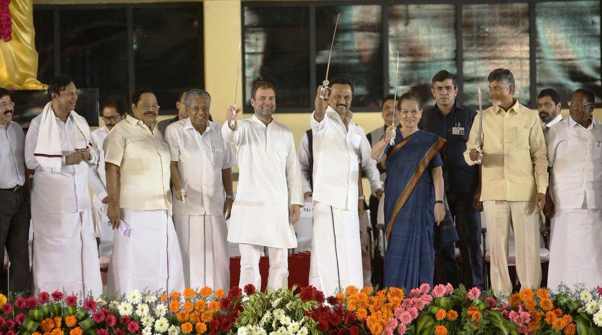 Rahul Gandhi as next Prime Minister, exhorts DMK president M K Stalin