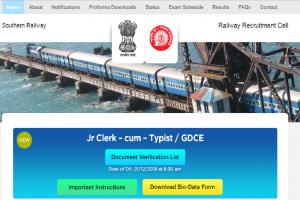 Southern Railway recruitment 2018: Apply for 824 Apprentice posts at rrcmas.in