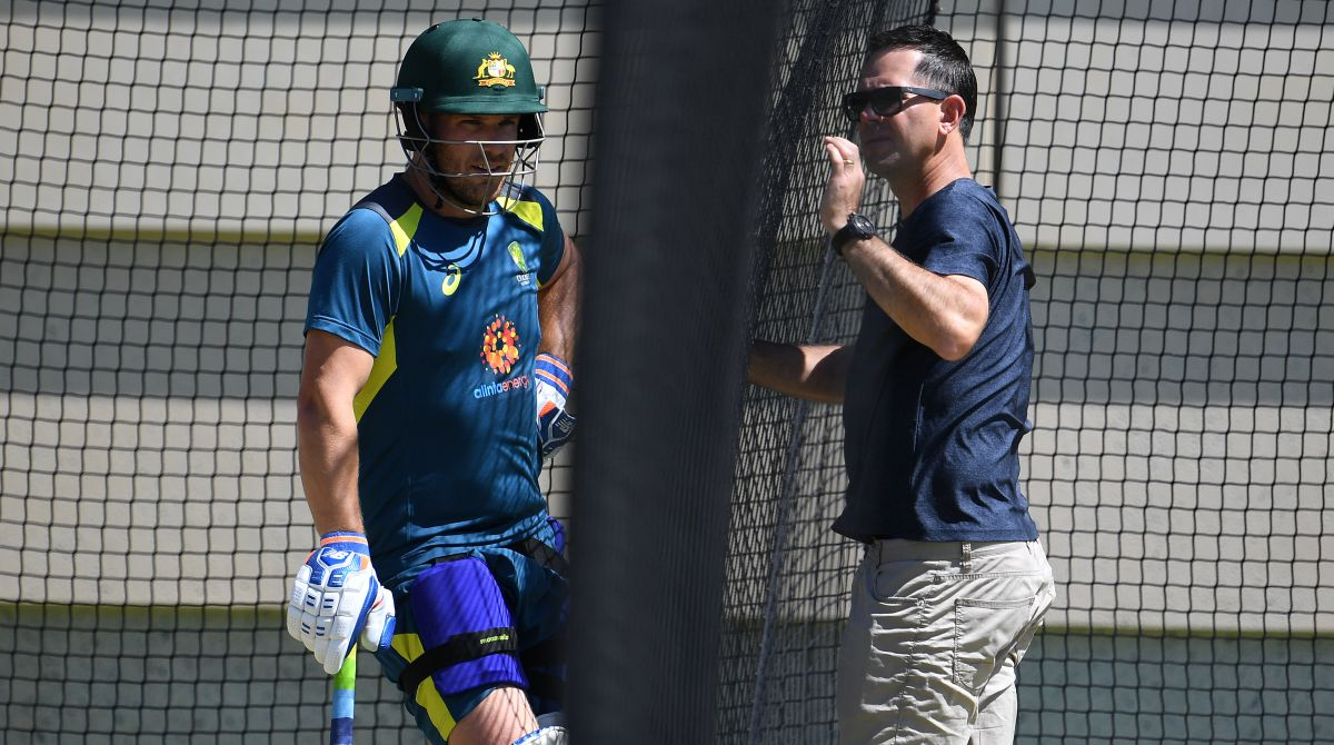 Ricky Ponting, Aaron Finch