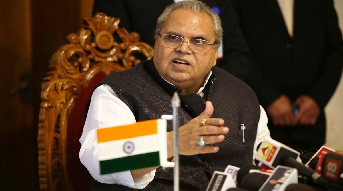 Governor Satya Pal Malik approves bill to seize any Benami property in Jammu and Kashmir