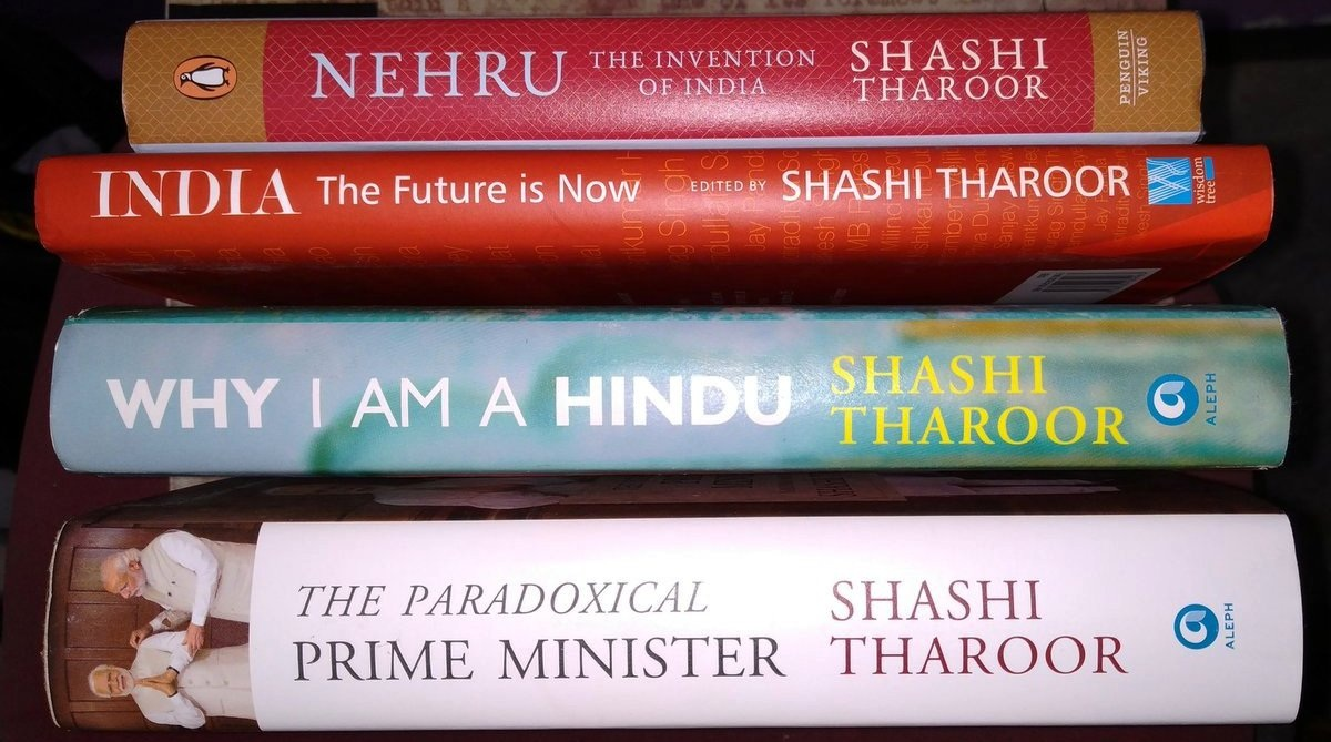 Shashi Tharoor to be conferred Crossword Book Lifetime Achievement award for his writings