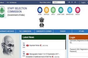 SSC releases examination dates of various examinations on ssc.nic.in | Check details here