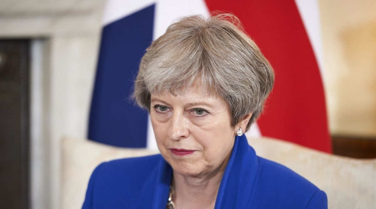 Theresa May,Brexit,Britain,House of Commons, open trade