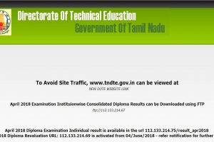 TNDTE October diploma results expected to be released soon at intradote.tn.nic.in| Check how to view results here
