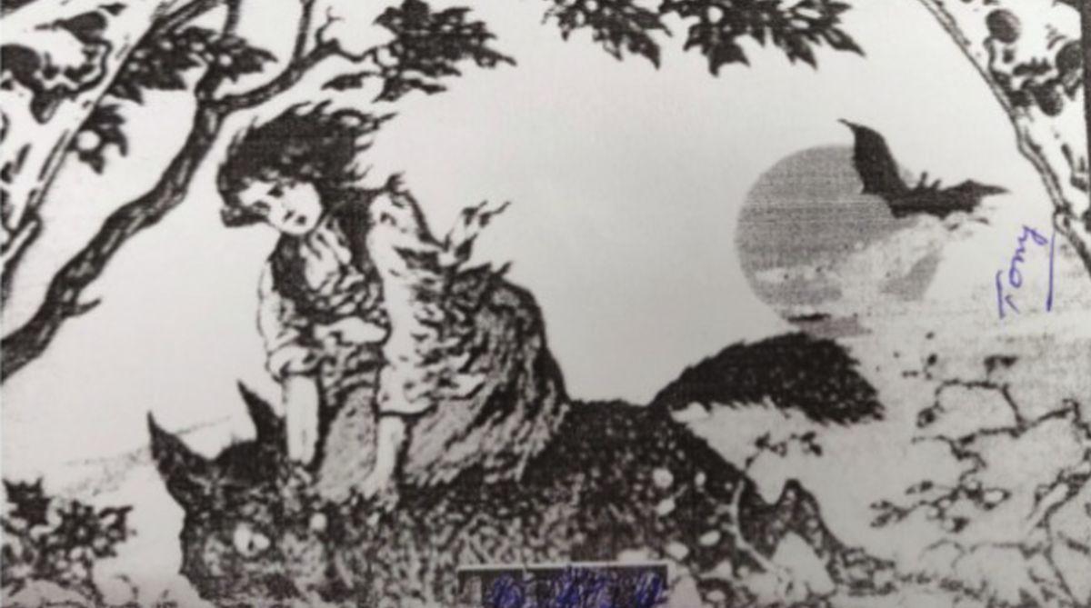 werewolves, Uttar Pradesh,Bram Stoker,Eliphas Levi,CA Kincaird, Anu Kasai, Akbar's tomb, Eliphas Levi, Banshee