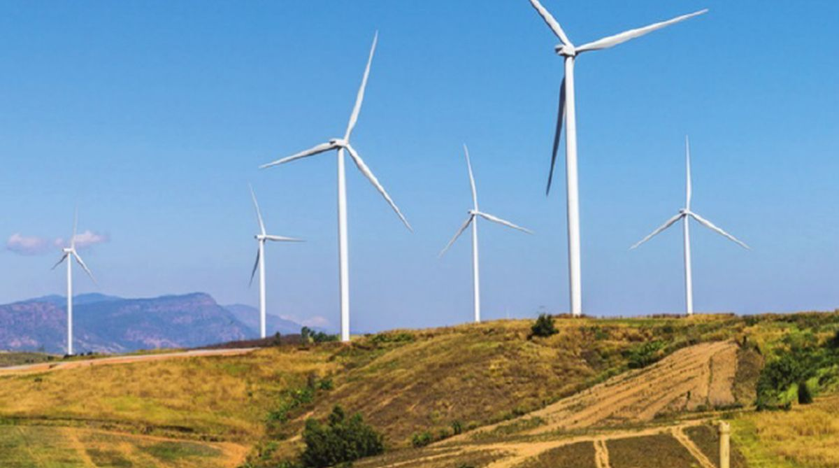 Wind farms, downwind farms, electricity generation, Roscoe, Texas, University of Colorado, hydroelectric plants