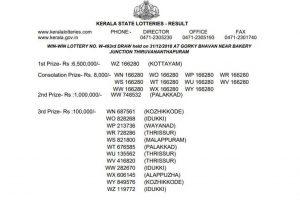 Kerala Win Win Lottery W 493 Result 2018 declared at keralalotteries.com | Check winners list via direct link