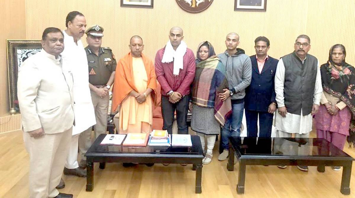 Bulandshahr violence, UP CM Yogi Adityanath, UP DGP OP Singh, 5 Kalidas Marg, Cow slaughter, Inspector Subodh Kumar Singh