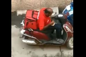 Zomato says sorry as video of delivery boy eating customer's food goes viral