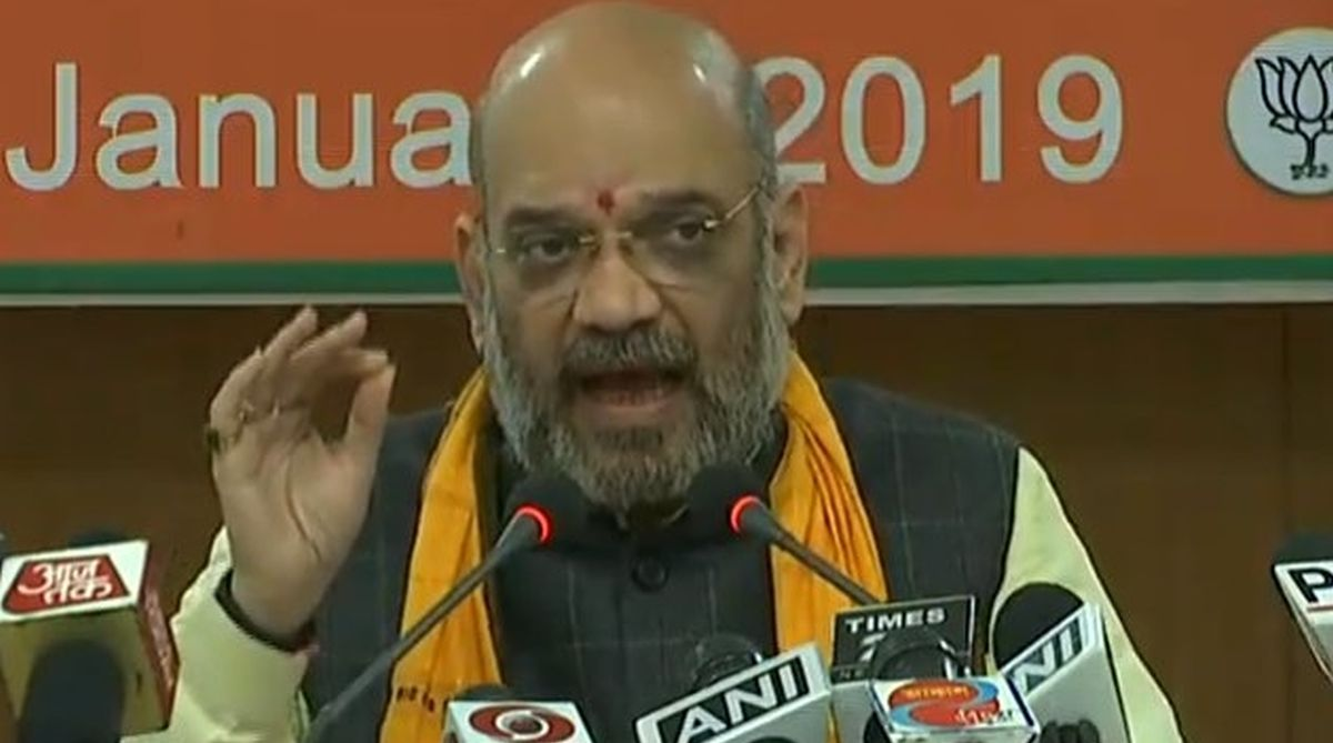 Amit Shah, swine flu, BJP, AIIMS
