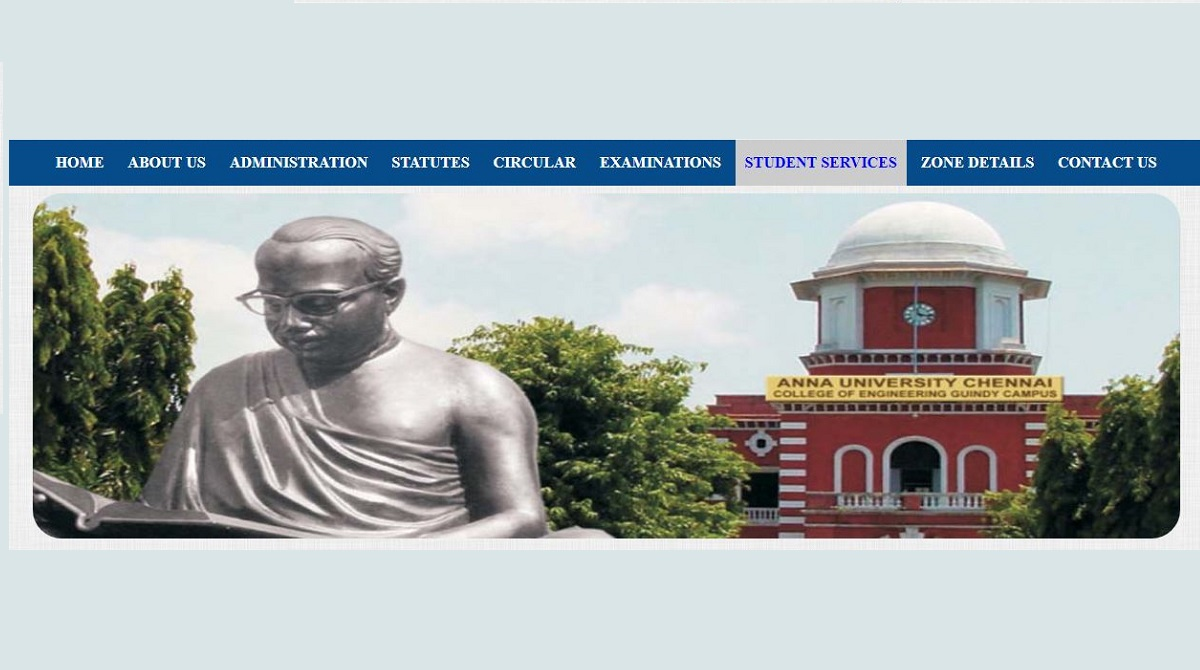 Anna University, Transcript fees, Rs 750, aucoe.annauniv.edu