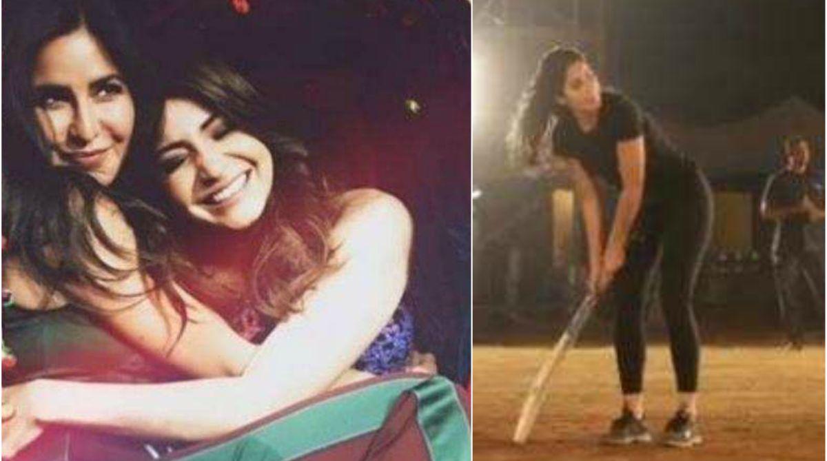 Bharat: Katrina Kaif shows off her batting skills, asks Anushka Sharma for help