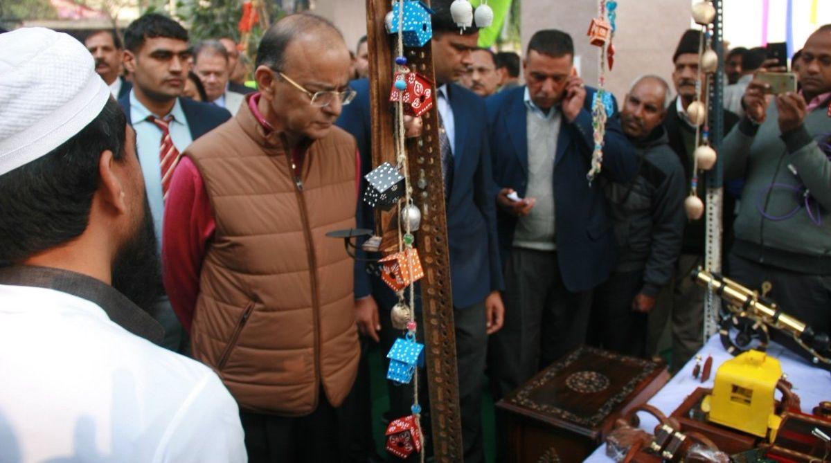Arun Jaitley opens Hunar Haat in Delhi