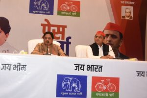 Mayawati, Akhilesh Yadav announce BSP-SP alliance for 2019 Lok Sabha polls | Slam 'arrogant' BJP