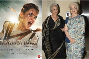 Waheeda Rehman, Asha Parekh shower praises on Kangana Ranaut for Manikarnika