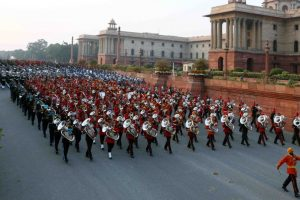 Indian music at Beating Retreat ceremony marks end of 70th Republic Day celebrations