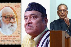Bharat Ratna for Pranab Mukherjee, Nanaji Deshmukh, Bhupen Hazarika