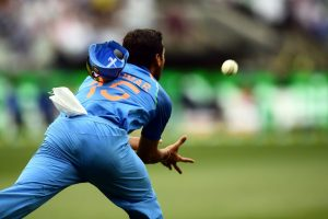 Watch | Bhuvneshwar Kumar takes a blinder to dismiss Glenn Maxwell