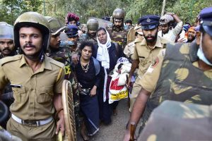 Sabarimala temple closed for purification after two women under 50 enter shrine