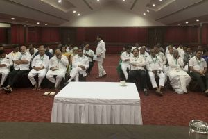 Resort politics ends, Karnataka Congress MLAs back home; party suspends JN Ganesh