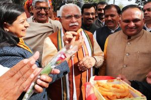 Jind victory people's faith in graft-free governance, uniform development: Khattar