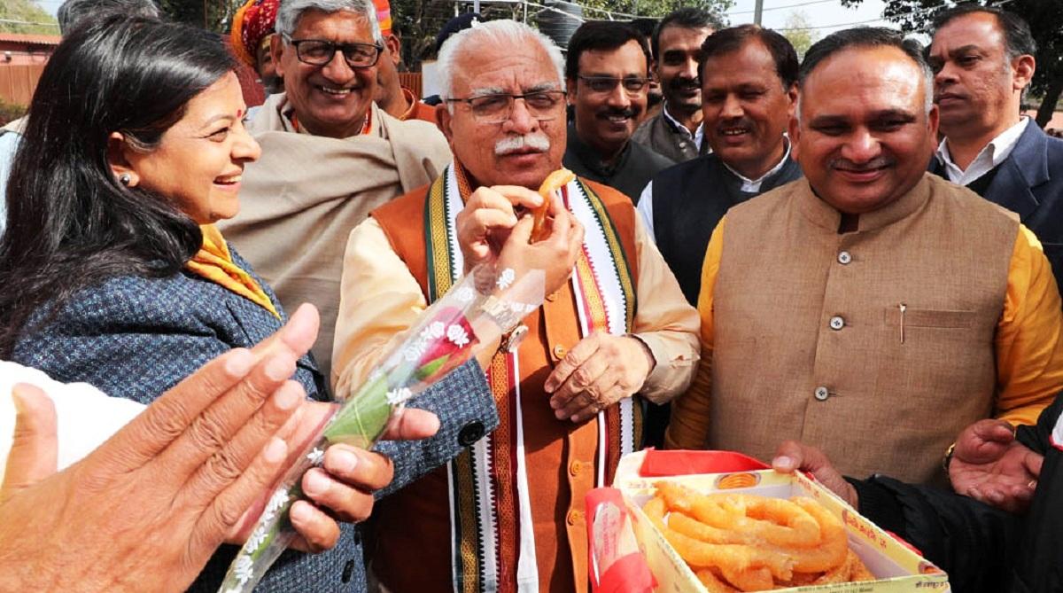 Jind victory people's faith in graft-free governance, uniform development: Khattar