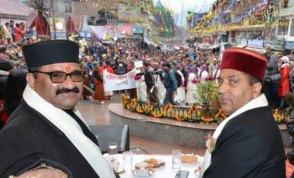 Winter Carnival begins in Manali, 8th National Winter Carnival-2019, Kullu district, Himachal Pradesh, Chief Minister Jai Ram Thakur, Hidimba Mata temple, Manali Winter Carnival, Lahaul valley, Chamba district