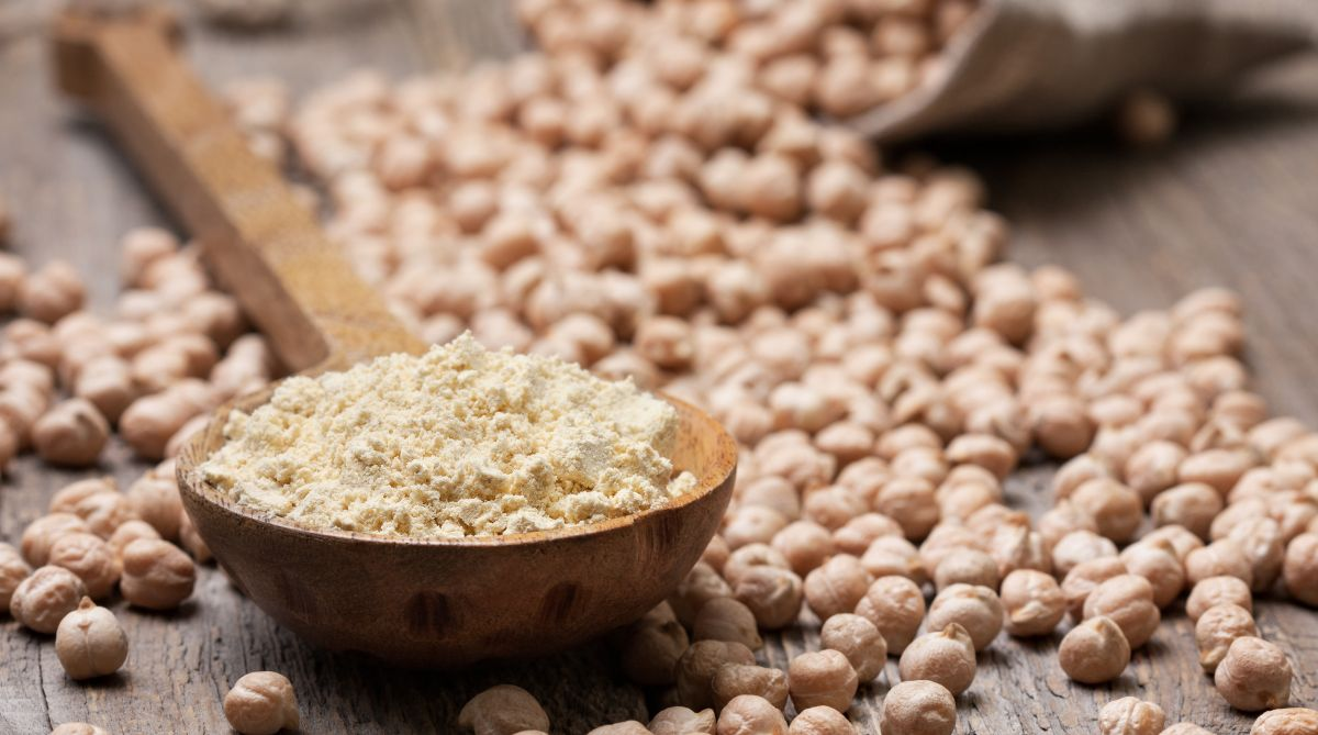 Enjoy a higher dose of fiber and protein with chickpeas flour