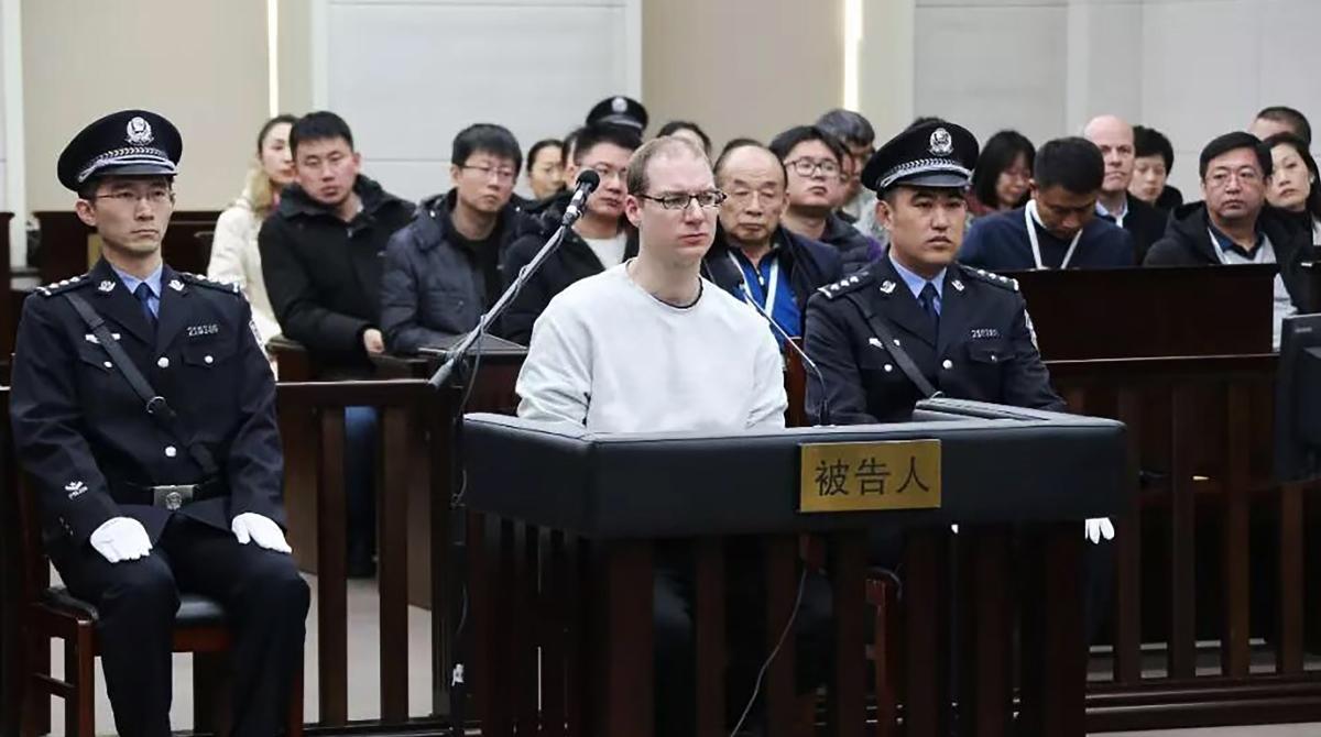 Hostage diplomacy, China, Canada, Robert Lloyd Schellenberg, Death Sentence