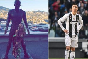 Fans won't leave this Cristiano Ronaldo statue alone | Find out why