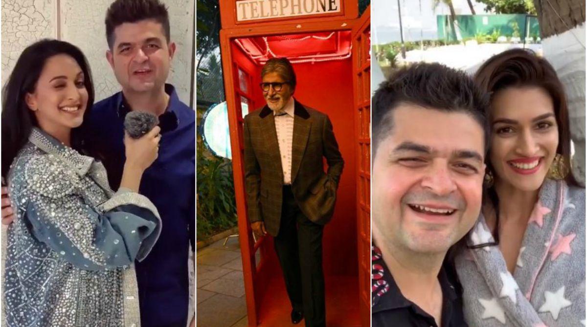 Dabboo Ratnani 2019 calender, Dabboo Ratnani, Amitabh Bachchan, Aishwarya Rai, Kiara Advani, Kriti Sanon