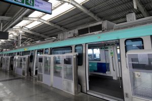 Metro's Aqua line linking Noida and Greater Noida opens for public
