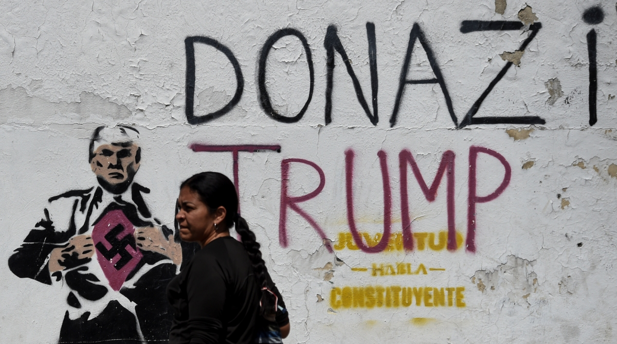 US President, Donald Trump, Americans, Venezuela, Nicholas Maduro