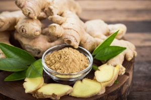 Ginger is a noted herb with warming properties when the mercury plunges