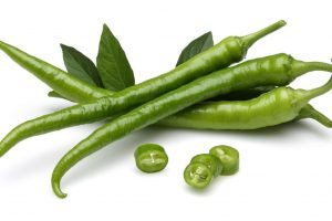 Not many know that a well known Indian spicy food component – Green chillies are rich in fiber and various nutrients