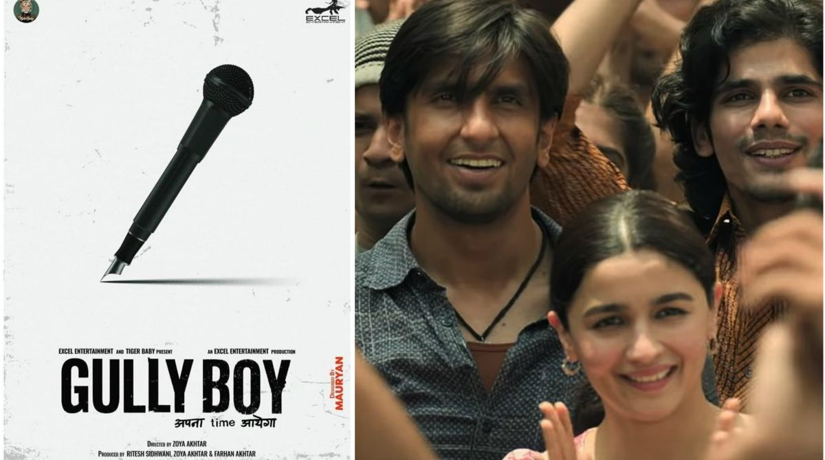 Gully Boy poster: Ranveer Singh and Alia Bhatt starrer showcases power of words